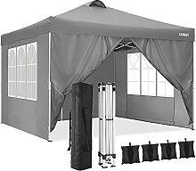 Cobizi Pavillon 3x3m Wasserdicht Flatpavillon