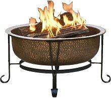 CobraCo Feuerschale Klassische Feuerwanne aus 100%