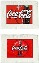 Coca Cola 2 2er Set Stoffservietten