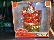 Coca Cola 2002 Weihnachtsmann Andenken, geblasen,