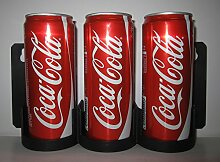 Coca Cola Dosen Aufsteller Barregal Wandregal Plexiglas Display Regal CC Serve