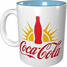 Coca-Cola Farbige Porzellantasse 330 ml Keramik