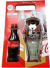 Coca-Cola Flaschenöffner zur Wandmontage, Glas