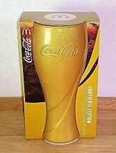 /Coca-Cola / Gläser/Glas/Gold / 2018 / Limitierte