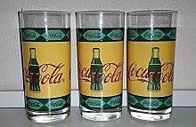Coca-Cola / Gläser/Glas/Luminarc/Retro/Vintage /