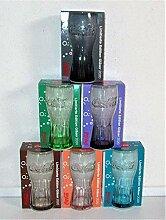 /Coca-Cola/Glas/Gläser/Limitierte Edition / 6er