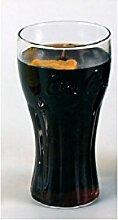 Coca Cola Glas Kerze 0,2 Liter mit Coca Cola Duft