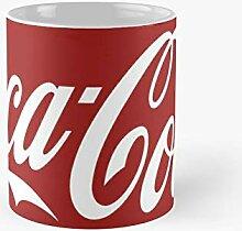 Coca Cola Logo Classic Mug   Best Gift Funny