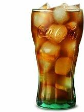Coca Cola Original Glas, Georgia, grün,