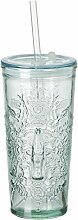 Coca Cola Relief Glas To Go Wappen, 530 ml,