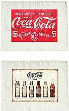 Coca Cola Vintage Stoffservietten 2er Se