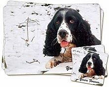 Cocker Spaniel im Schnee ' Yours Forever'