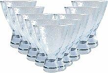 Cocktail-Gläser-Set Helsinka 12 teilig | Füllmenge: 330 ml | Ein Glas für alle Getränke - der perfekte Allrounder | Saft-Wasser-Gläser-Cocktail Schallen auch für Eis & Dessers