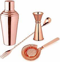 Cocktail Set - Pariser Kupfer Cocktail Shaker Kit