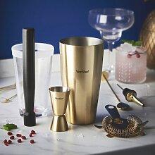 Cocktail-Set VonShef Ausführung: Violett/Gold