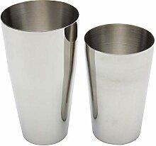 Cocktail-Shaker aus Edelstahl, 600 450 ml, 2 Stück