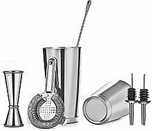 Cocktail-Shaker-Bar-Set mit 525 ml und 780 ml