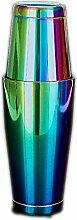 Cocktail-Shaker, Edelstahl, mit dickem Boden, für
