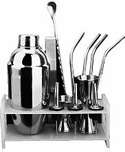 Cocktail-Shaker-Set, 350/550 ml, Edelstahl,