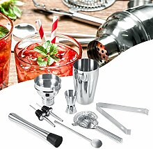 Cocktail-Shaker-Set, Edelstahl, Shaker-Set,