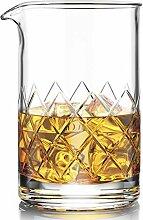 Cocktailglas mit dickem Boden, 500 ml, ideal als