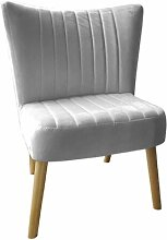Cocktailsessel Cloutier Norden Home Polsterfarbe: