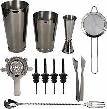 Cocktailshaker Set Barkeeper Kit, 11Pcs / Set
