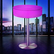 COCO Lounge Stehtisch LED RGB