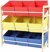 Cocoarm Kinder Aufbewahrungsregal Spielzeug