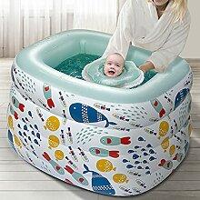 COCOGQ Aufblasbare Badewanne 4 Schichten, Mit