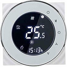 coconut Multi-Schutz Negativer Bildschirm Programmierbare LCD-Touchscreen Elektroheizung Thermostat NTC-Temperaturregler