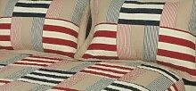 Cocoon Aspen Flickenteppich, baumwolle, King Size (104'' x 104'')