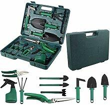 CODIRATO 10 Stück Garten Werkzeug Set,