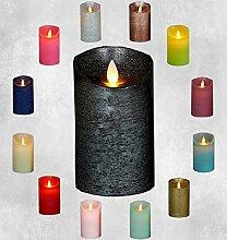 Coen Bakker LED Echtwachskerze Kerze viele Farben