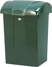 COFA 7996 Briefkasten SafePost Kunststoff Grün