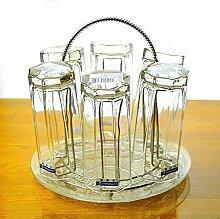 Coffcup Glasset Household 6 transparente
