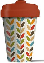 Coffe to go Becher Bamboo Cup (Bright Leaves)