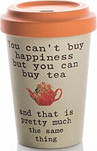 Coffe to go Becher Bamboo Cup (Tea Happiness)