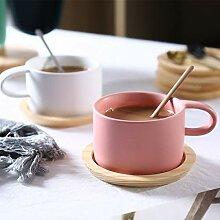 Coffee Cup Set Weiblicher Minimalistischer