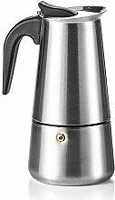 Coffee Fox Espressokocher aus Edelstahl -