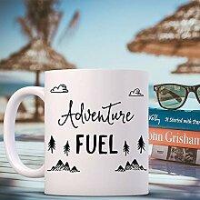 Coffee Mug Adventure Fuel Coffee Cup - Adventure