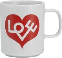 Coffee Mug Love Heart Henkelbecher