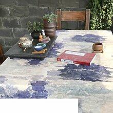 Coffee Shop Tischtuch,Stoff-tischdecke,Tischdecke-A 140x200cm(55x79inch)