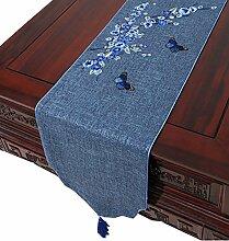 Coffee Table Cloth Drapierten Tischdecke Leinen Tischläufer Moderne Chinesische