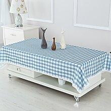 Coffee Table wasserdichte Tischdecken/ längliche