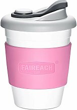 Coffee to Go Becher 340ml / 12oz, Faireach Mehrweg