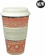 Coffee to-go Becher 'Cruising Travel Mug DNA' - aus Bambusfasern und Mais, Farbe:Pink