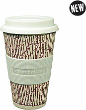 Coffee to-go Becher 'Cruising Travel Mug DNA' - aus Bambusfasern und Mais, Farbe:Purple