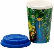 Coffee-to-Go-Becher aus Porzellan Kaffeebecher
