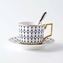 Coffee To Go Becher,Bone China Teetasse Set